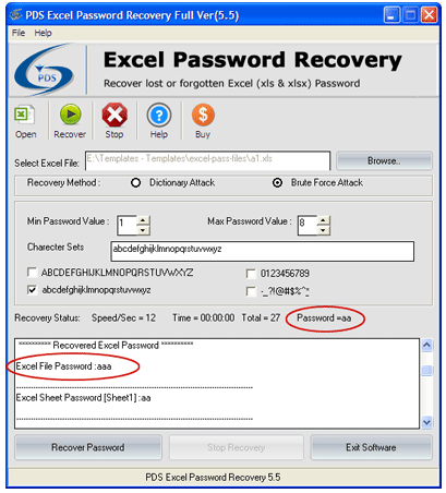 forgot password on excel spreadsheet 2013